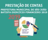Prestação de Contas 2019